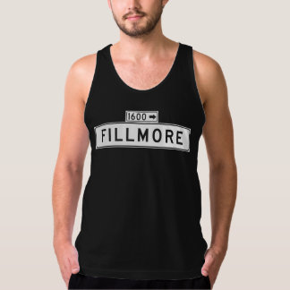 Fillmore St., San Francisco Street Sign Tank Top