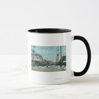 Fillmore Street View 1 Year After Fire of 1906 Mug