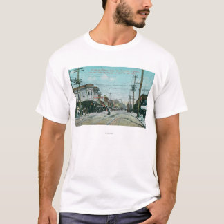 Fillmore Street View 1 Year After Fire of 1906 T-Shirt