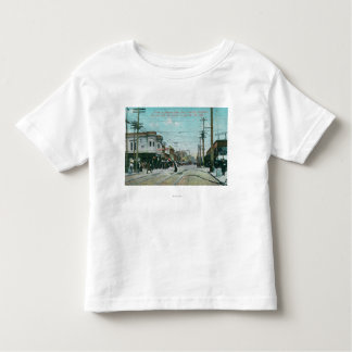 Fillmore Street View 1 Year After Fire of 1906 Toddler T-shirt