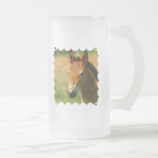 Filly Frosted Beer Mug