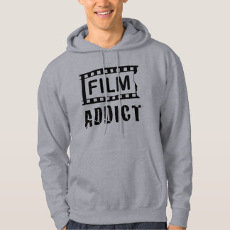 FILM-ADDICT HOODED SWEATSHIRT