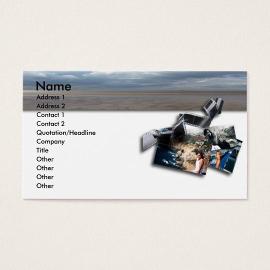 Film and Photograph Business Card
