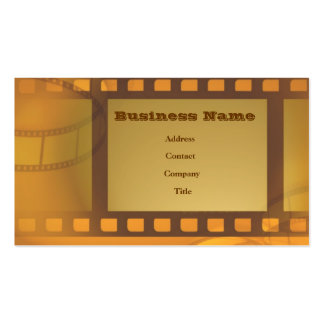 Film Art Double-Sided Standard Business Cards (Pack Of 100)