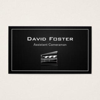Film Assistant Cameraman Director Business Card