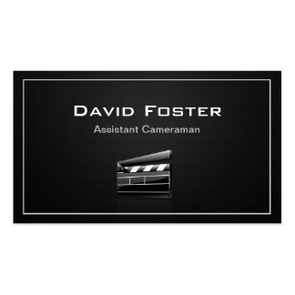 Film Assistant Cameraman Director Double-Sided Standard Business Cards (Pack Of 100)
