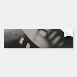 Film Background Car Bumper Sticker