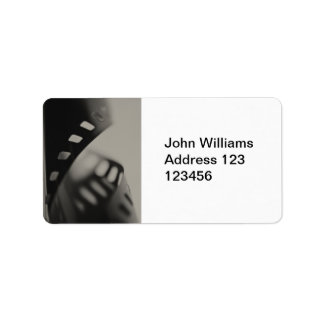 Film Background Label