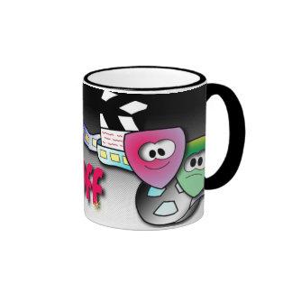 Film Buff Ringer Mug