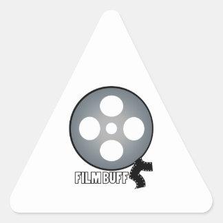 Film Buff Triangle Sticker