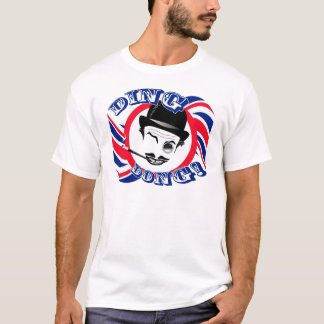 """Film Cad's Twirly Union Jack """"Ding Dong!"""" T-Shirt"""