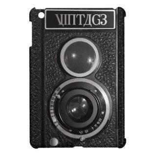 Film Camera Black Chrome Vintage Ipad Mini Case at Zazzle