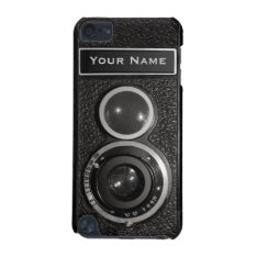Film Camera Black Chrome Vintage Ipod Touch 5g N Ipod Touch (5th Generation) Case at Zazzle