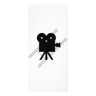film camera icon personalized rack card