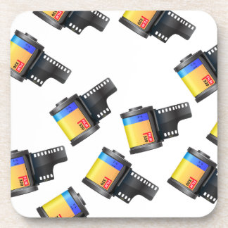 Film Canister Drink Coaster