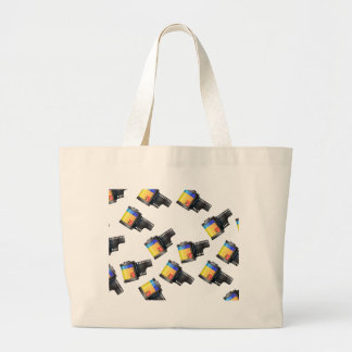Film Canister Large Tote Bag