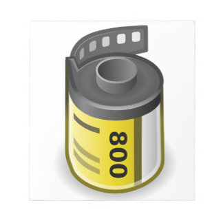 Film Canister Notepad