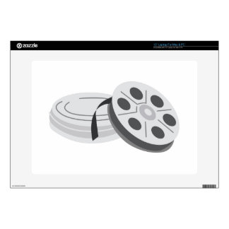 Film Cans Laptop Decal