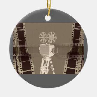 film ceramic ornament