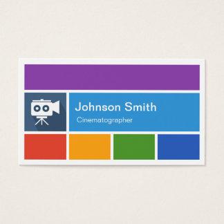 Film Cinematographer - Creative Modern Metro Style Business Card