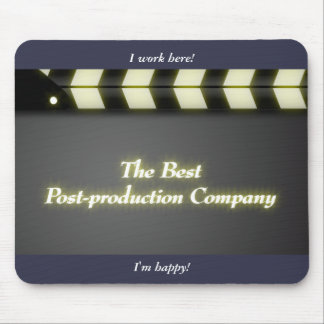 film clap crew Hollywood Mouse Pad