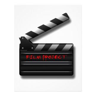 Film Clapper Letterhead