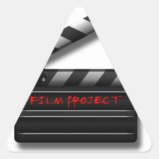 Film Clapper Triangle Sticker