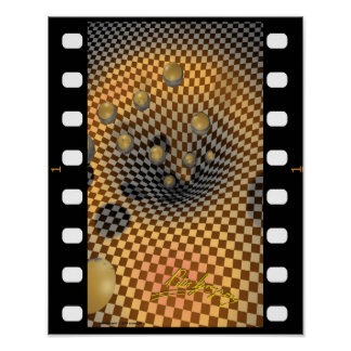 Film Clip Checkered Past Poster