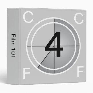 Film Countdown 3 Ring Binder