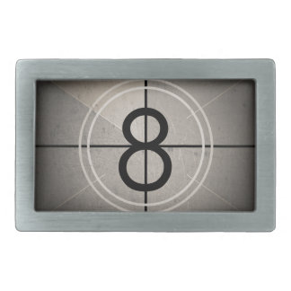 Film Countdown Belt Buckle