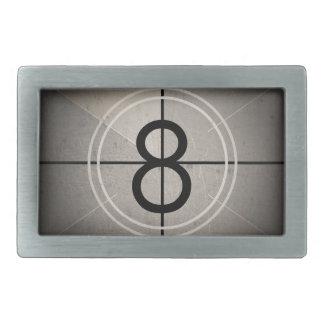 Film Countdown Belt Buckle