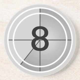 Film Countdown Drink Coaster