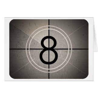 Film Countdown Greeting Card