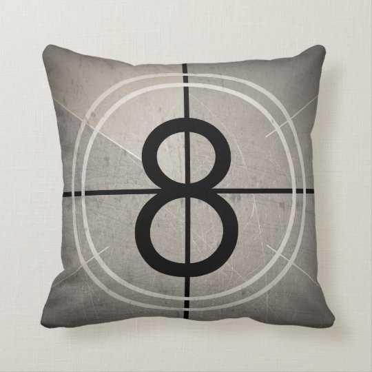 Film Countdown Pillow