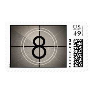 Film Countdown Postage Stamps