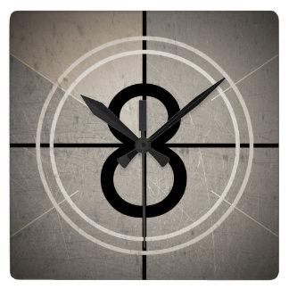 Film Countdown Wall Clock