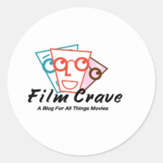 Film Crave Sticker