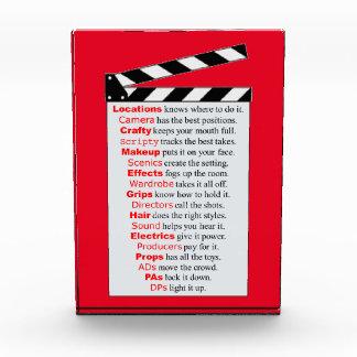 Film Crew Acrylic Award