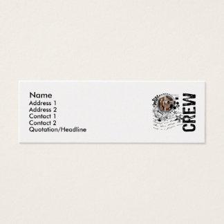 Film Crew Alchemy Mini Business Card