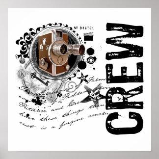Film Crew Alchemy Poster