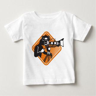 film crew cameraman shooting filming camera baby T-Shirt