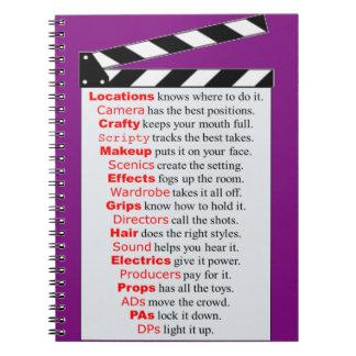 Film Crew Notebook