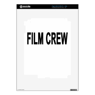 FILM CREW.png Decal For iPad 2