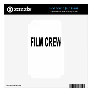 FILM CREW.png Decals For iPod Touch 4G