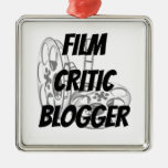 Film Critic Blogger Christmas Ornament
