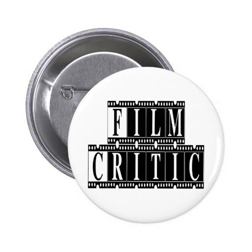 Film Critic T-shirts and Gifts. Buttons