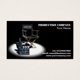 Film Director Business Cards
