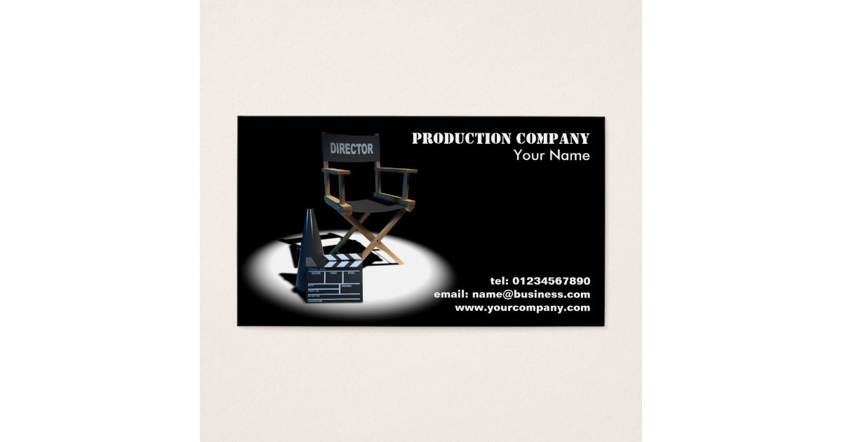 Film Business Cards, 1300+ Film Business Card Templates