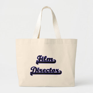Film Director Classic Job Design Jumbo Tote Bag