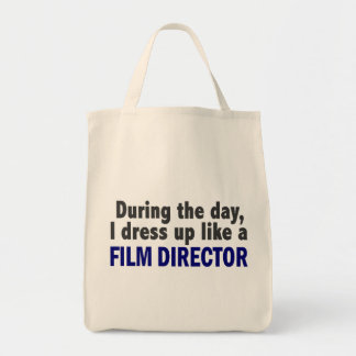 Film Director During The Day Tote Bags